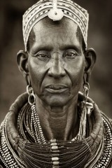 AFRICAN MAN CANVAS PHOTO FRAME