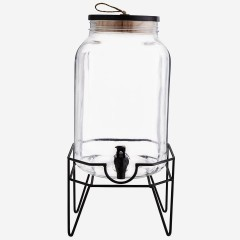 WATER DISPENSER WITH METAL STAND