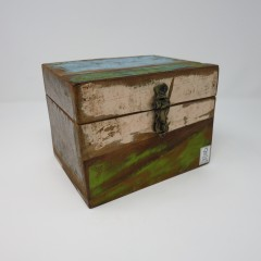 BOX RECYCLE BOAT WOOD