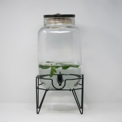 MAMA BEVERAGE DISPENSER WITH METAL STAND