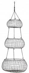 Hanging Basket 3 Level Mattblack