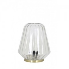 TABLE LAMP CLEAR GLASS     - TABLE LAMPS